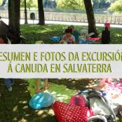 Resumen e fotos da Excursión Rede CRIA ó Parque A Canuda en Salvaterra do Miño