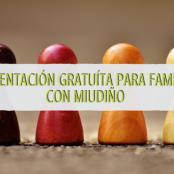 Presentación gratuíta para familias con MIUDIÑO